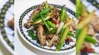 【全聯出好菜】蒜苗炒肉片 必備家常菜 白飯殺手 #3