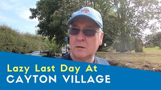 Lazy Last Day At Cayton Village Caravan And Motorhome Club Site | Yorkshire Tour 2019