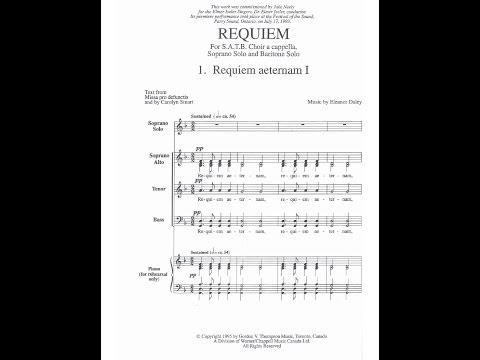 Eleanor Daley, Requiem [with sheet music]