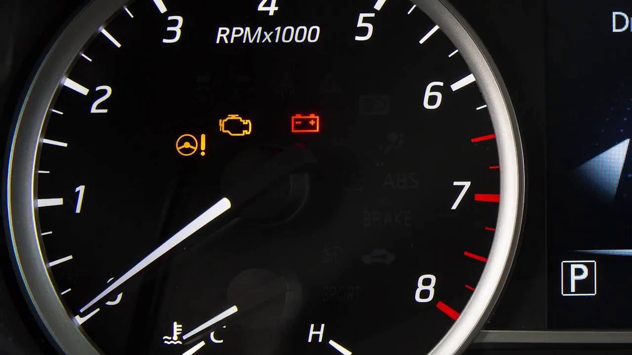 2017 Nissan Sentra Warning And Indicator Lights
