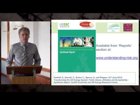 Transforming the UK Energy System - Nick Pidgeon