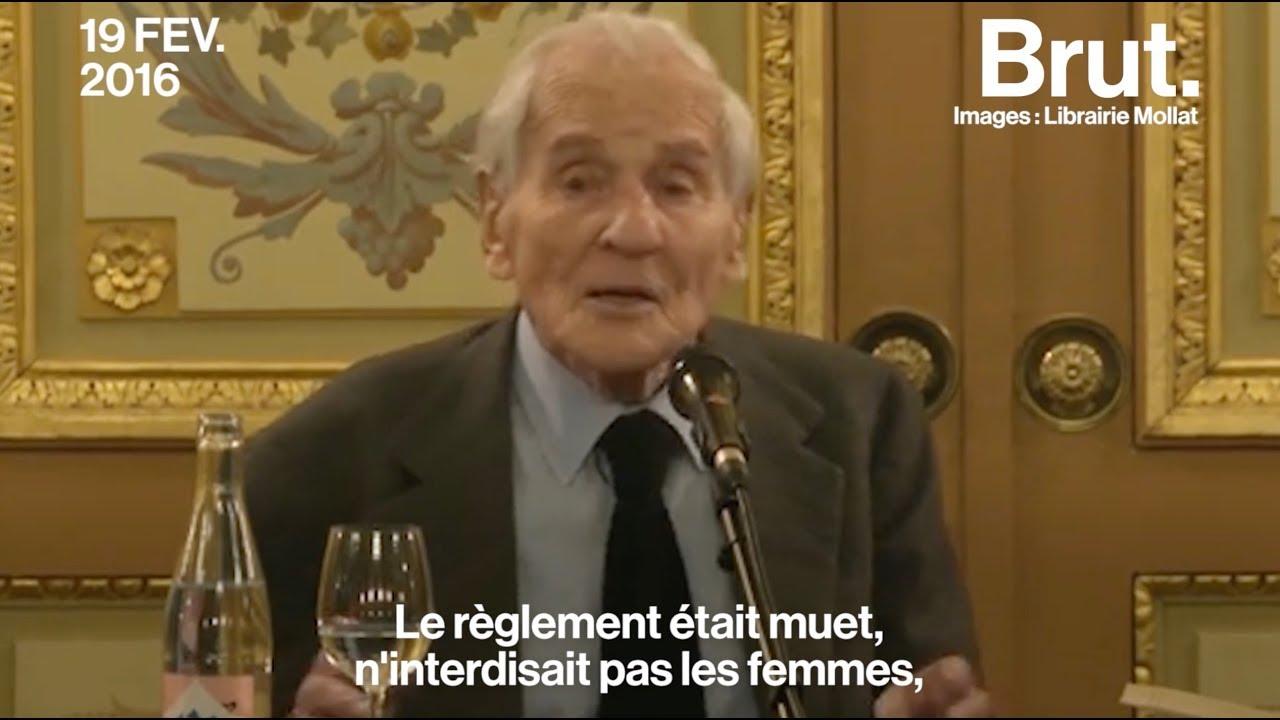 Quand Jean d'Ormesson faisait du féminisme en se défendant d'être féministe
