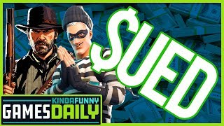 Let's Sue Fortnite, Let's Sue Red Dead - Kinda Funny Games Daily 01.15.19