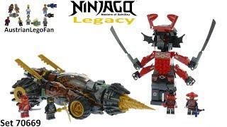 Lego Ninjago Legacy 70669 Cole´s Earth Driller Speed Build