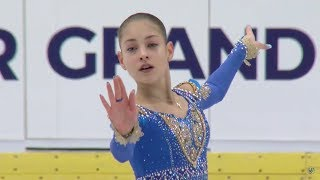 Алёна Косторная / Alena Kostornaia - JGP Czech Skate (Ostrava) FS -September 29, 2018