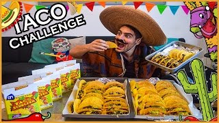 50+ TACOS FOOD CHALLENGE | 7000+ CALORIES | INSANE MAN VS FOOD