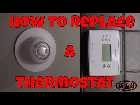 How To Replace Your old thermostat