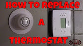 Upgrade from Mercury to Digital Thermostat - YouTube