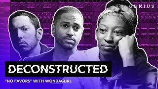 "Video The Making Of Big Sean & Eminem's ""No Favors"" With WondaGurl 