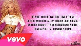 Lil' Kim - Do What You Like (Lyrics Video) Verse HD