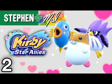 Kirby Star Allies #2 •I Want to Hug Rick!