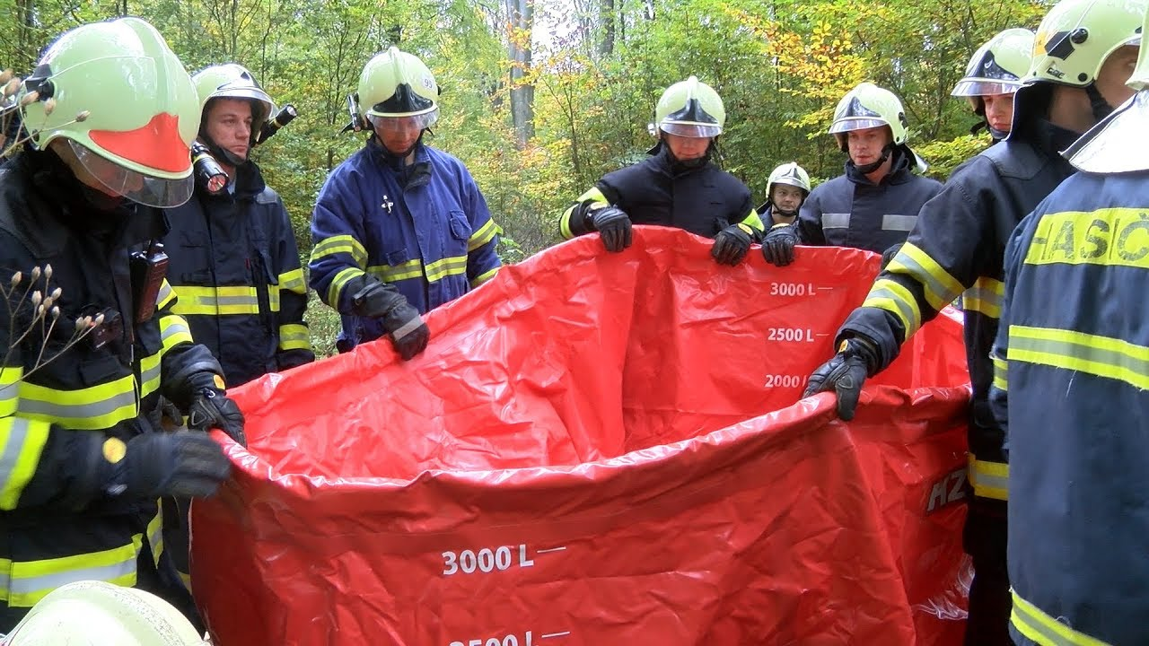 Petrovice u Karviné - Taktické cvičení požárních jednotek