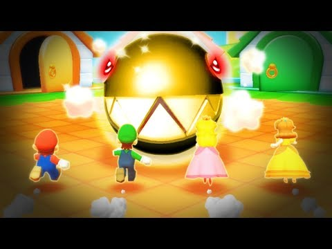 Mario Party Star Rush - All Boss MiniGames