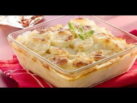 Запеченный картофель в молоке с сыром рецепт от шеф-повара / Илья Лазерсон / французская кухня