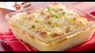видео Картофель, запеченный в сливках с сыром