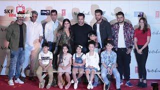 Notebook Official Trailer Launch | FULL EVENT | Salman khan, Pranutan Bahl, Zaheer Iqbal | SKF