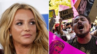video: Britney Spears testimony: pop star compares herself to sex trafficking victim and says her father won't let her off birth control
