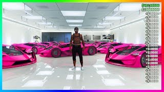$10,000,000 Every 5Mins In GTA 5 Online Unlimited Money Glitch (PS4/XBOX/PC)