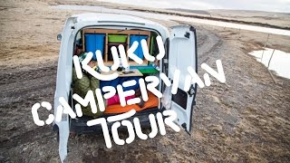 Mr and Mrs Adventure's KUKU Campervan Tour!