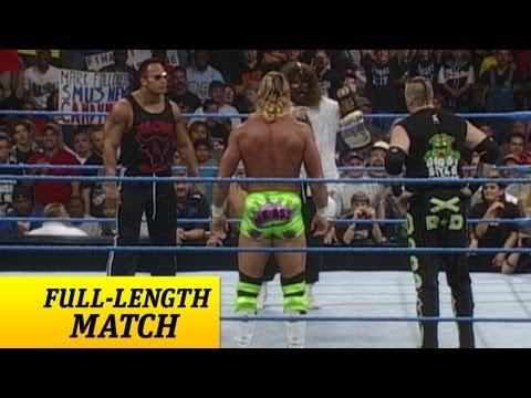 FULL-LENGTH MATCH - SmackDown - Rock 'N' Sock Connection vs. New Age Outlaws - Tag Team Title Match
