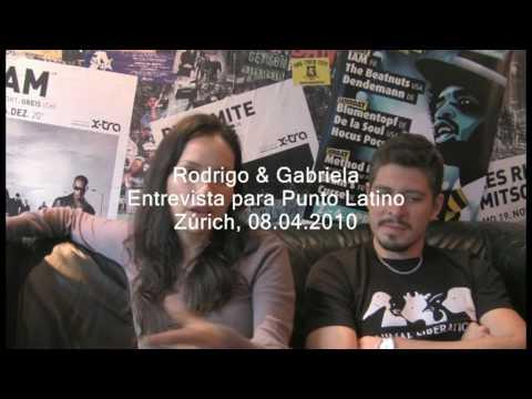 PuntoLatino entrevista en Suiza a Rodrigo y Gabriela - 1. Parte en Español & Ingles