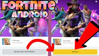 ❗INSTALL NOW❗ FORTNITE ANDROID FOR ALL WITH THIS *BUG* Bugs de fortnite