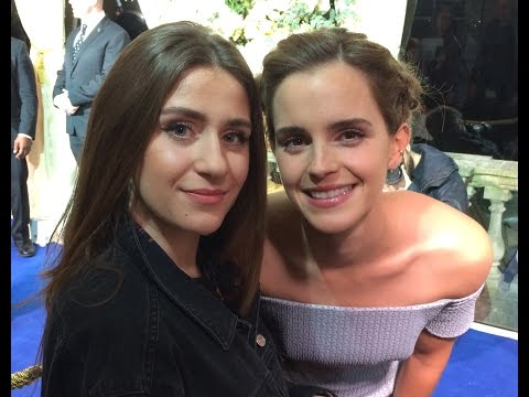 """Emma Watson interview: Disney's """"Beauty and the Beast"""" London premiere. EXCLUSIVE"""