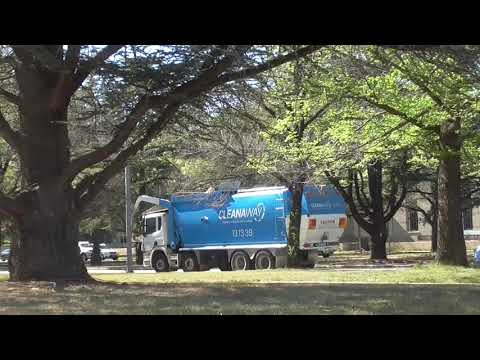 Cleanway Garbage truck Canberra