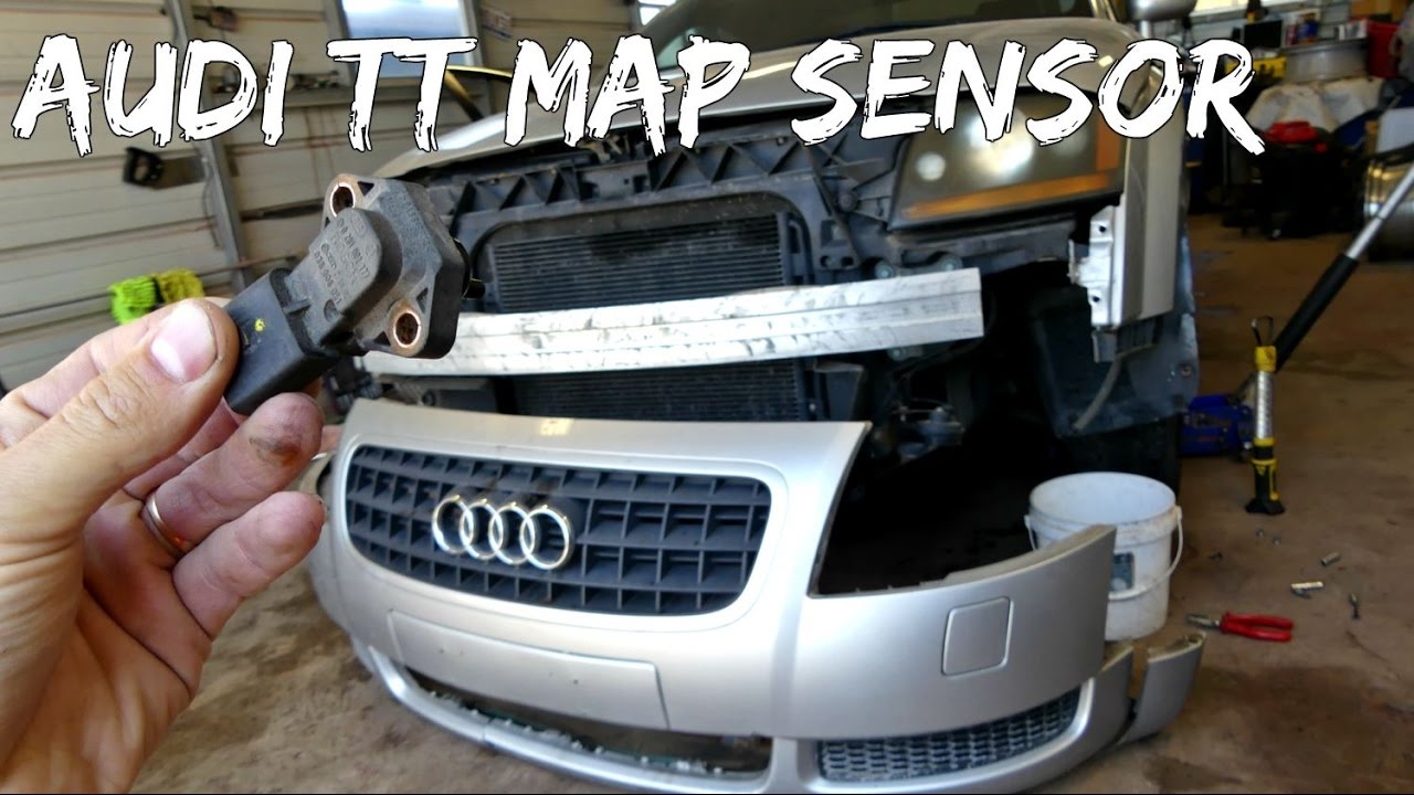 Audi A4 2.0 T >> AUDI TT MAP SENSOR REMOVAL REPLACEMENT 1.8 Turbo - YouTube