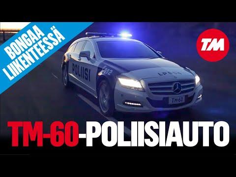 Mercedes-Benz CLS Shooting Brake 350 CDI 4Matic para la policía finlandesa
