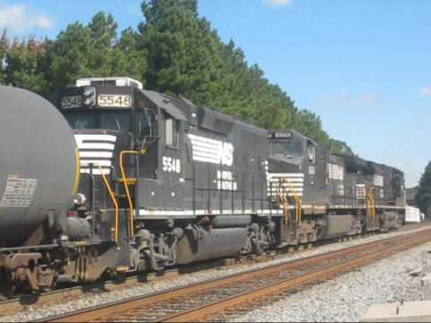 Railfanning NS Piedmont Division 10/23/13: Endangered EMDs and Fast Hotss