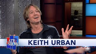 Keith Urban: Johnny Cash Was My First Concert When I Was Five Years Old
