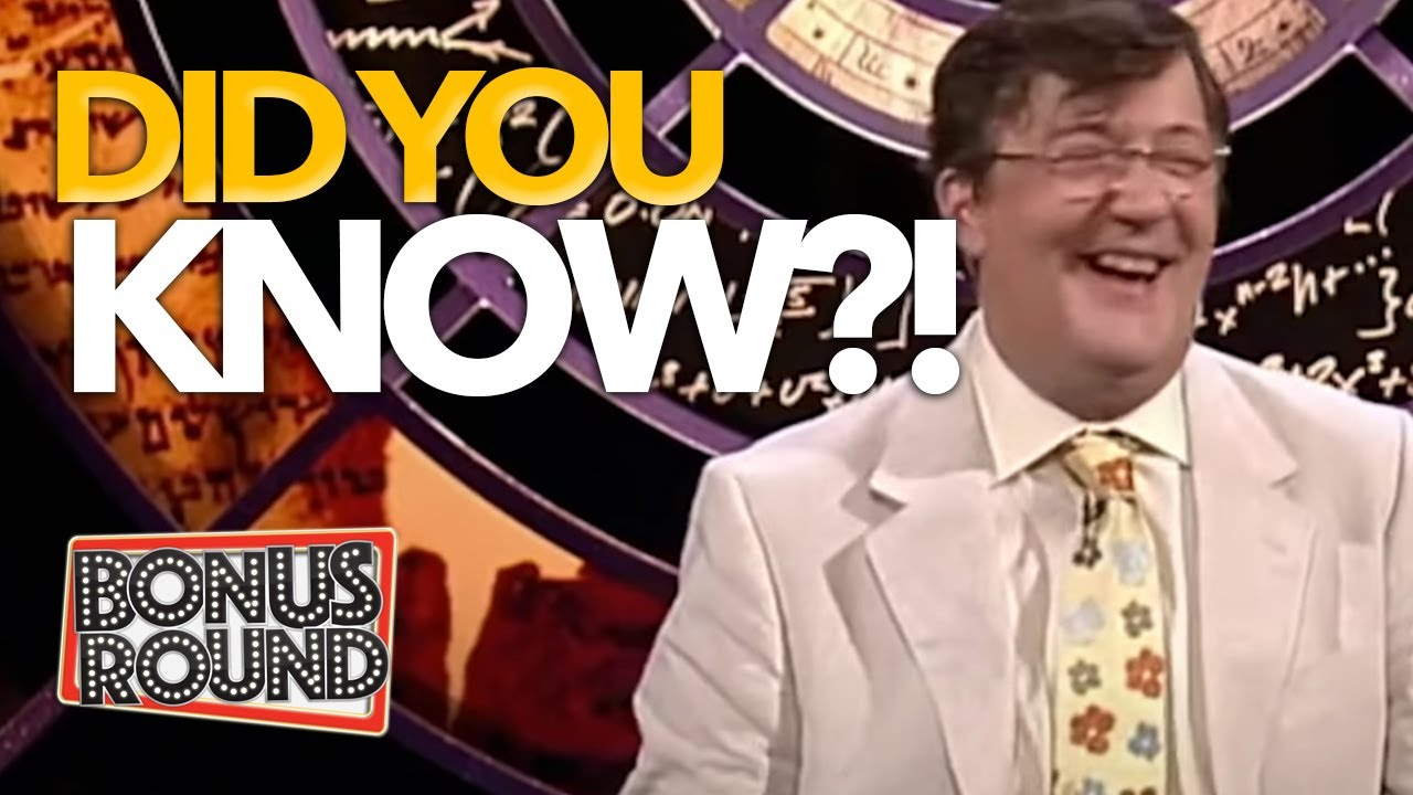 ANIMALS THAT ARE MUSICAL?! Did You Know This?! QI With Stephen Fry