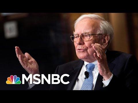 Warren Buffet Calls Donald Trump's Bluff On Taxes | MSNBC