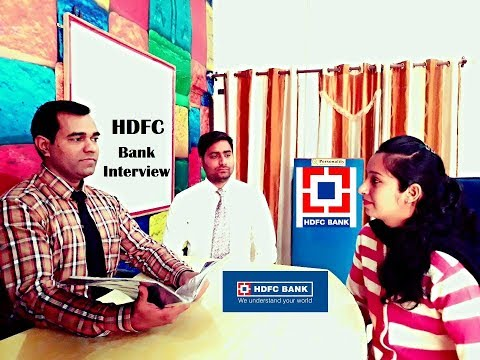 Bank Interview - HDFC BANK Interview - Interview Practice