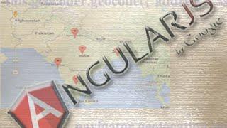 Using Google Map Geolocation API with AngularJS.