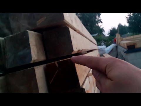 Дом из бруса | концепция самостоятельного строительства | сторона для строгания