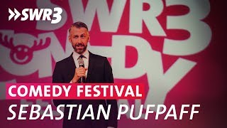Show von Sebastian Pufpaff beim SWR3 Comedy Festival 2018