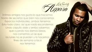 Amaro - Me Hablas Claro feat Yaga y Mackie (Letra) (La Society)