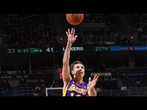 International Play of the Day: Steve Nash Sinks the Tough Shot