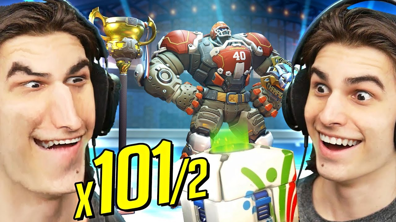 x101/2 SUMMER GAMES 2018 LOOTBOX OPENING!   Overwatch All New Skins