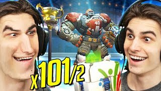x101/2 SUMMER GAMES 2018 LOOTBOX OPENING! | Overwatch All New Skins