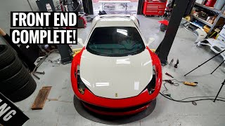 Ferrari GT3 458 Widebody Install! [Part 2]