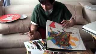 MY ARTWORK MAKING OF PHIL.TARSIER