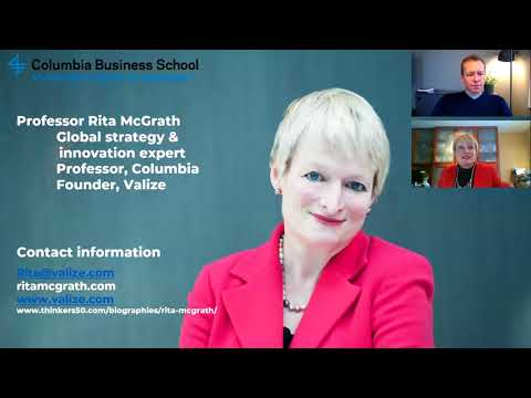 Webinar: Three Levels of Business Models with Prof. Rita McGrath & Christian Rangen