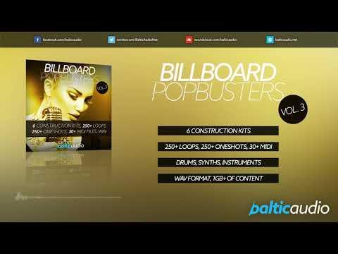 Billboard Pop Busters Vol 3 (6 Construction Kits, 250+ Loops, 250+ Oneshots, WAV)