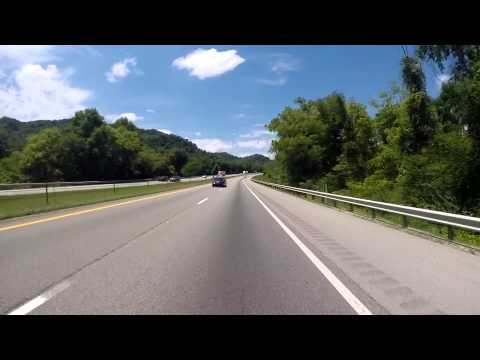 From, Rocky Top to Jacksboro, Tennessee (Road Video)