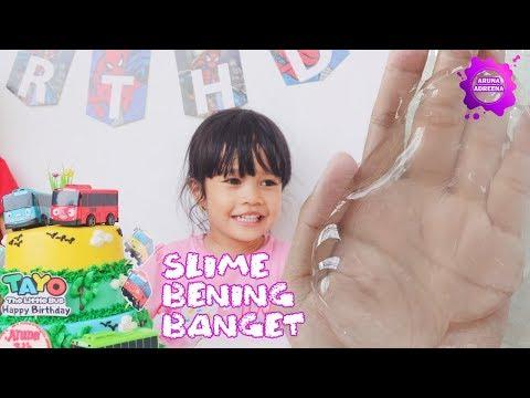 Video Cara Membuat Slime 3 Bahan Saja