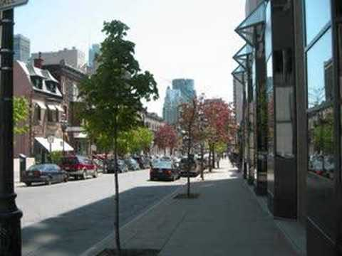 Summer Vs Winter (Montreal, QC)