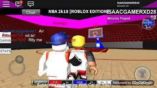 NBA 2K18 ROBLOX (Trash asf)😲😤